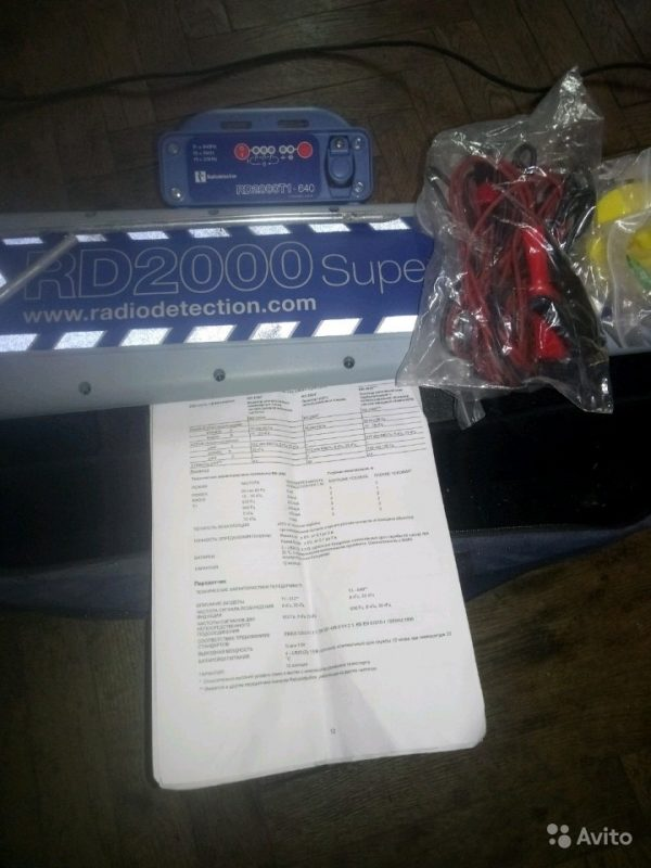 Radiodetection RD2000 Т1-640 Radiodetection RD2000 Т1-640, Санкт-Петербург, 100000 ₽