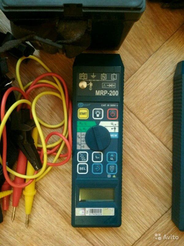 Sonel MRP-200 измеритель параметров электрических Sonel MRP-200 измеритель параметров электрических, Санкт-Петербург, 25000 ₽