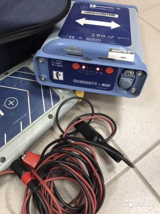 Трассоискатель Radiodetection RD2000 Трассоискатель Radiodetection RD2000, Арзамас, 22000 ₽
