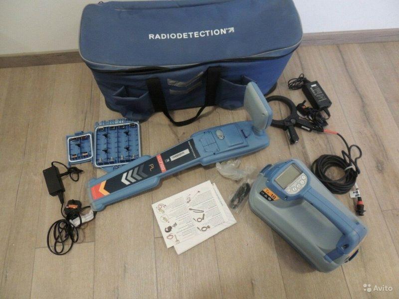 Новый Трассоискатель Radiodetection RD7100PL TX-10 Новый Трассоискатель Radiodetection RD7100PL TX-10, Москва, 263000 ₽