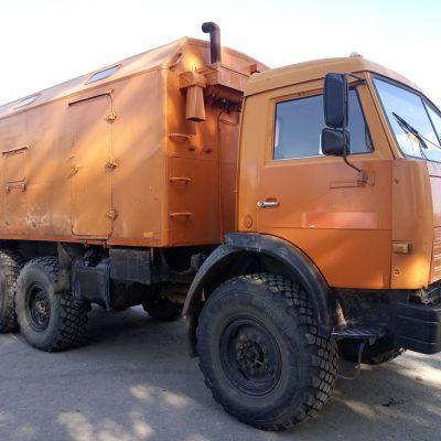 Камаз 43114С (Кунг, Вахта, Мастерская)