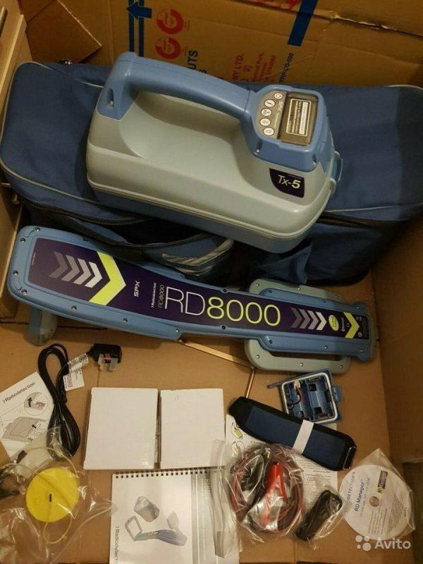 Трассоискатель Radiodetection RD8000 с TX-5 Genny Трассоискатель Radiodetection RD8000 с TX-5 Genny, Москва, 248000 ₽