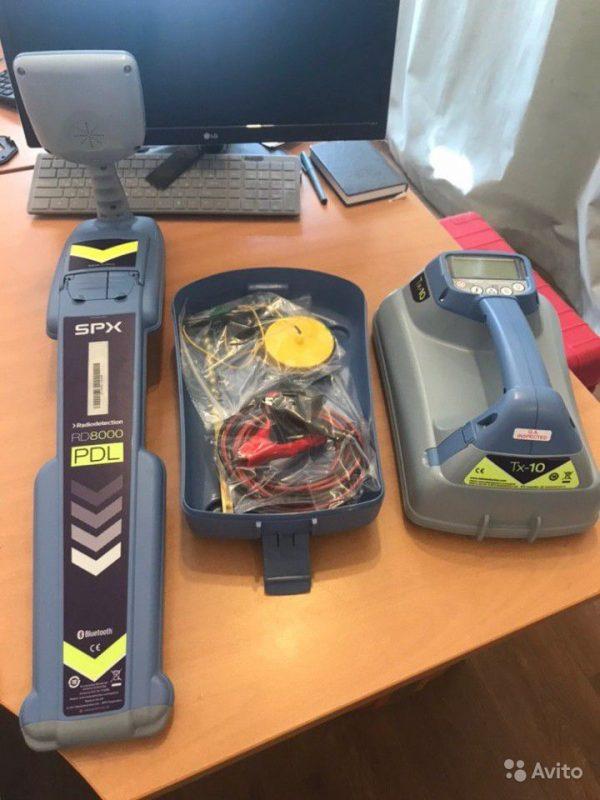 Трассоискатель RD8000 PDL новый, gCAT4+ Трассоискатель RD8000 PDL новый, gCAT4+, Москва, 100000 ₽