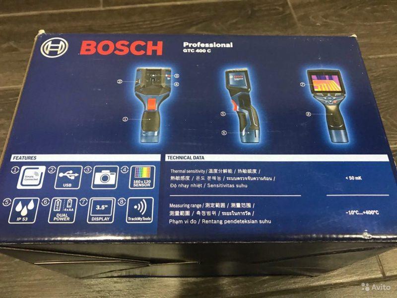 Тепловизор Bosch GTC 400 C Тепловизор Bosch GTC 400 C, Иркутск, 45000 ₽