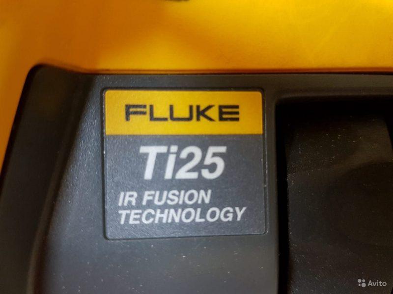 Тепловизор Fluke Ti25 Тепловизор Fluke Ti25, Санкт-Петербург, 110000 ₽