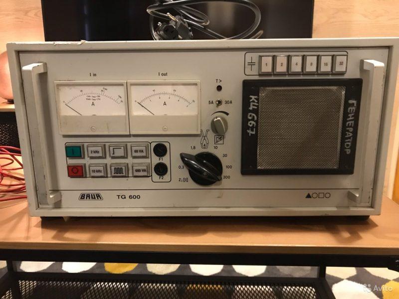 Baur TG 600 Передатчик звуковой частоты Baur TG 600 Передатчик звуковой частоты, Воронеж, 200000 ₽