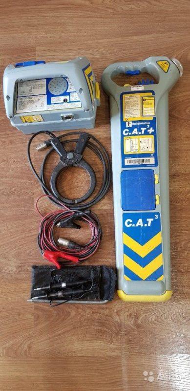 Трассоискатель Radiodetection CAT3+genny3 Трассоискатель Radiodetection CAT3+genny3, Уссурийск, 64997 ₽