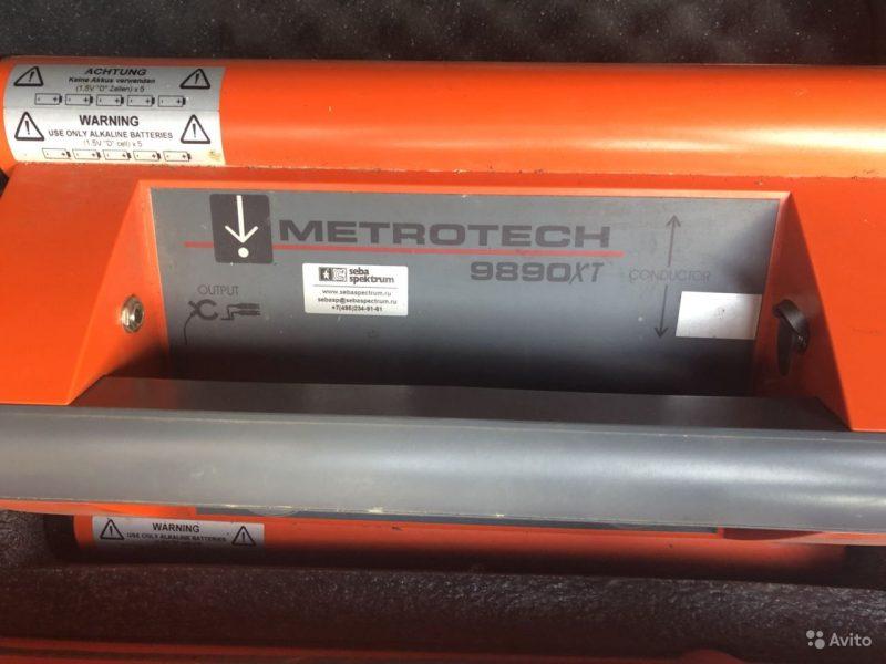 Трассоискатель Metrotech 9890xt Трассоискатель Metrotech 9890xt, Уфа, 40000 ₽