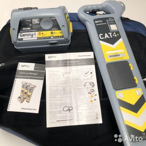 Трассоискатель Radiodetection CAT4+ с генератором Трассоискатель Radiodetection CAT4+ с генератором, Москва, 129996 ₽