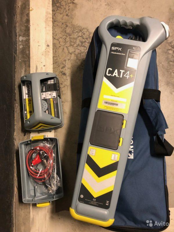 Трассоискатель Radiodetction CAT4+ genny Трассоискатель Radiodetction CAT4+ genny, Чита, 46000 ₽