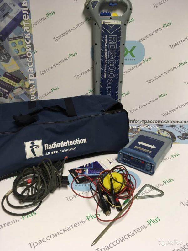 Трассоискатель Radiodetection RD2000 генератор T1 Трассоискатель Radiodetection RD2000 генератор T1, Иркутск, 89000 ₽