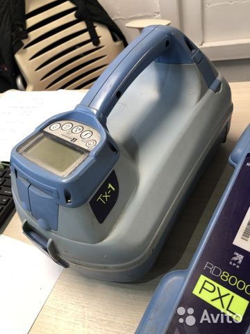 Трассоискатель Radiodetection RD8000 и TX1 Трассоискатель Radiodetection RD8000 и TX1, Краснодар, 157000 ₽