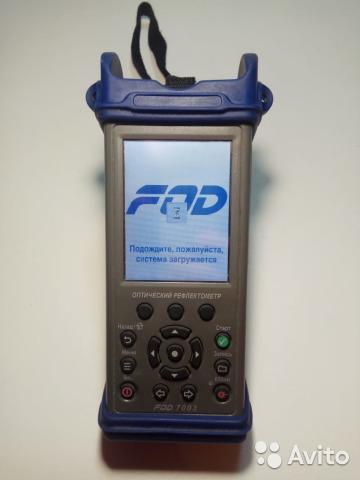 Рефлектометр FOD 7003 (1310/1550, SM) Рефлектометр FOD 7003 (1310/1550, SM), Москва, 85000 ₽