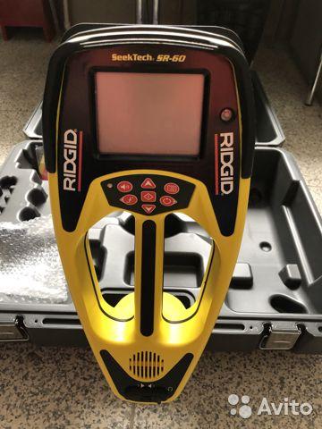 Трассоискатель ridgid seektech SR-60 Трассоискатель ridgid seektech SR-60, Орёл, 250000 ₽