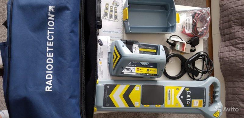 Новый Трассоискатель Radiodetection gCAT4+ и Genny Новый Трассоискатель Radiodetection gCAT4+ и Genny, Пермь, 1 ₽