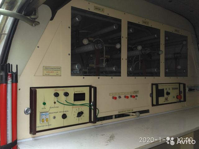 Электролаборатория кабельная передвижная «каэл-3» Электролаборатория кабельная передвижная «каэл-3», Санкт-Петербург, 650000 ₽