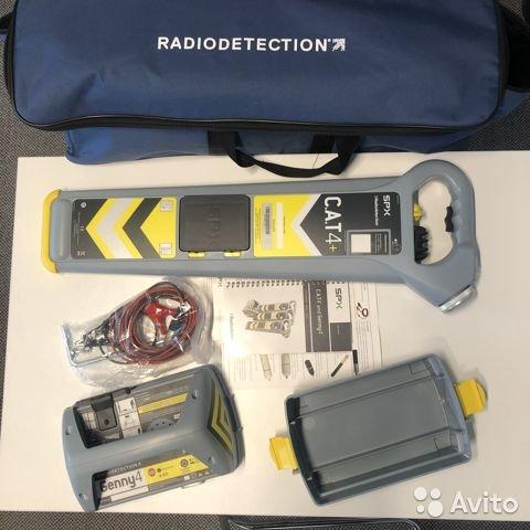 Новый Трассоискатель Radiodetection gCAT4+ и Genny Новый Трассоискатель Radiodetection gCAT4+ и Genny, Самара, 157000 ₽