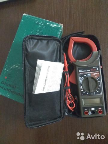 Цифровой мультиметр (токоизмерительные клещи) Цифровой мультиметр (токоизмерительные клещи), Калининград, 1000 ₽
