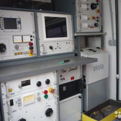 Передвижная электротехническая лаборатория (baur)