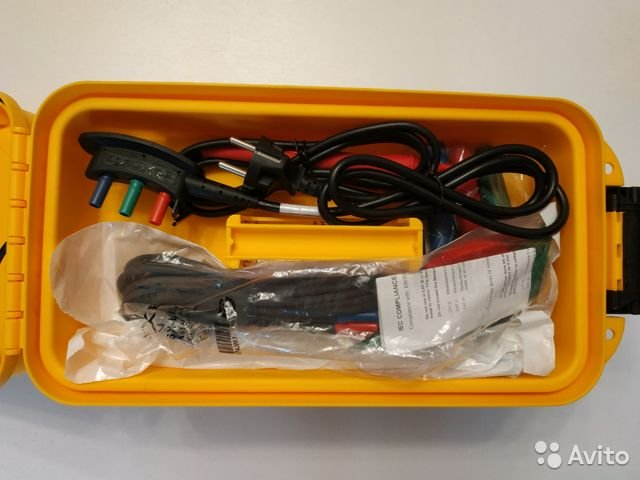 Новый тестер электроустановок Fluke 1662 Новый тестер электроустановок Fluke 1662, Москва, 62000 ₽