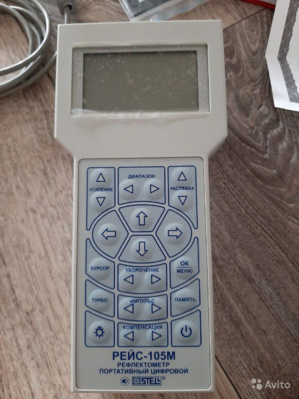 Портативный цифровой рефлектометр рейс-105М Портативный цифровой рефлектометр рейс-105М, Набережные Челны, 28000 ₽