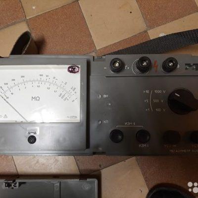 Мегаомметр,клещи электроизмерительные ц4502