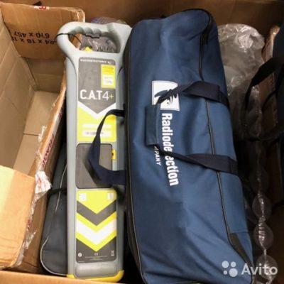 Трассоискатель Radiodetection CAT4+ и Genny4