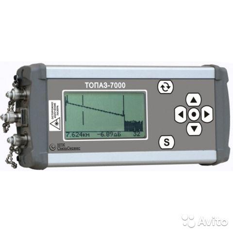 Топаз-7102-ARX оптический рефлектометр (1310 нм) Топаз-7102-ARX оптический рефлектометр (1310 нм), Иркутск, 35000 ₽