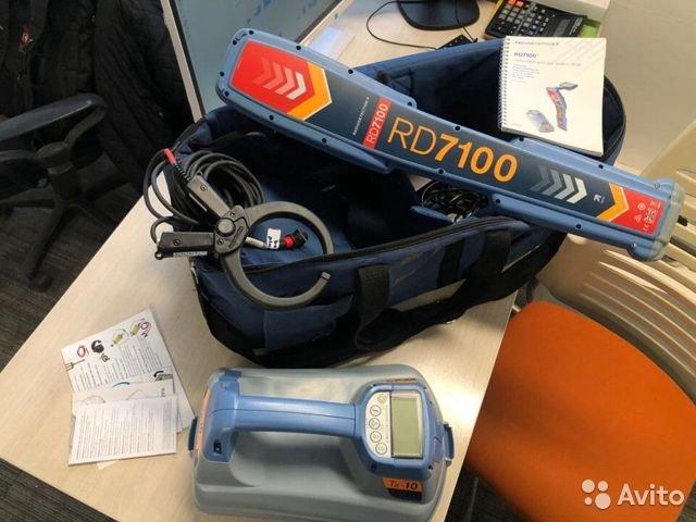 Новый Трассоискатель Radiodetection RD7100PL TX-10 Новый Трассоискатель Radiodetection RD7100PL TX-10, Краснодар, 223000 ₽