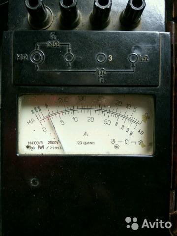 Мегаомметр, омметр, микроомметр, амперметр, вольтм Мегаомметр, омметр, микроомметр, амперметр, вольтм, Набережные Челны, 1800 ₽