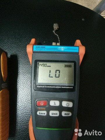 Рефлектометр Kiwi 4300 (Измеритель оптической мощн Рефлектометр Kiwi 4300 (Измеритель оптической мощн, Москва, 6000 ₽