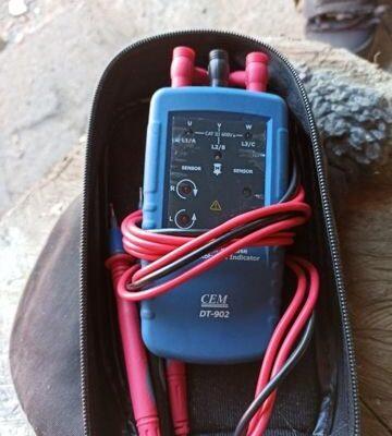 DT-902 индикатор порядка обмоток электродвигателя