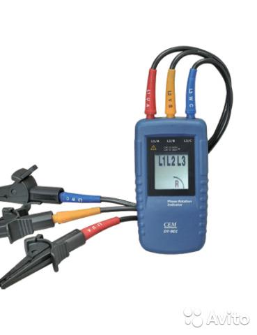 DT-901 индикатор порядка чередования фаз DT-901 индикатор порядка чередования фаз, Краснодар, 3850 ₽