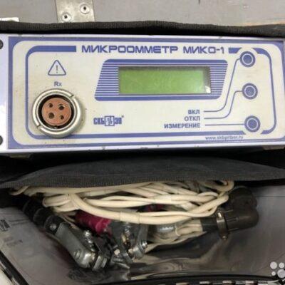 Промышленный микроомметр мико-1