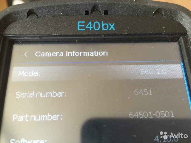 Тепловизор Flir E40 E60 c MSX Тепловизор Flir E40 E60 c MSX, Москва, 200000 ₽