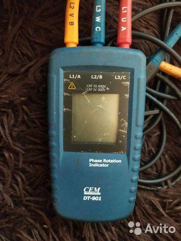 Индикатор порядка чередования фаз модели DT-901 Индикатор порядка чередования фаз модели DT-901, Воронеж, 3500 ₽