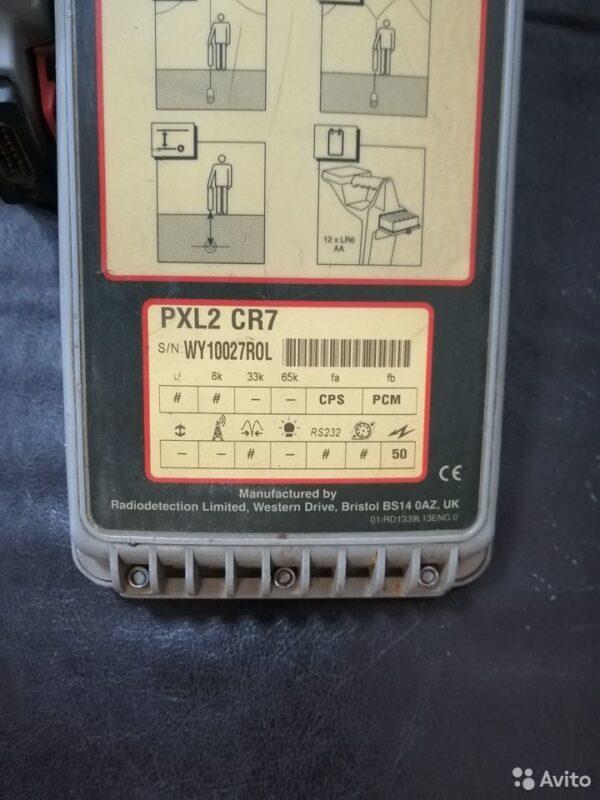 Трассоискатель Radiodetection pxl2 cr7 на запчасти Трассоискатель Radiodetection pxl2 cr7 на запчасти, Пермь, 15000 ₽