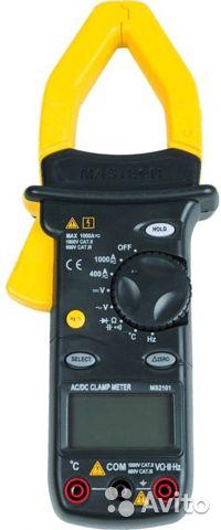 Новый Клещи токоизмерительные Mastech MS2101 (13-1 Новый Клещи токоизмерительные Mastech MS2101 (13-1, Москва, 4860 ₽