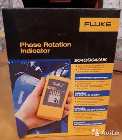 Индикатор чередования фаз Fluke 9040 UK Индикатор чередования фаз Fluke 9040 UK, Санкт-Петербург, 20000 ₽