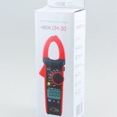 Токоизмерительные клещи RGK CM-20
