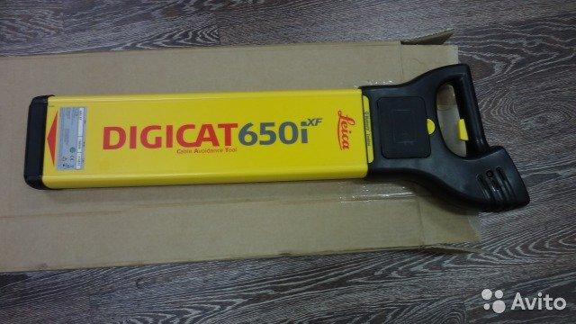Трассоискатель Leica digicat 650i xf новый Трассоискатель Leica digicat 650i xf новый, Краснодар, 85000 ₽