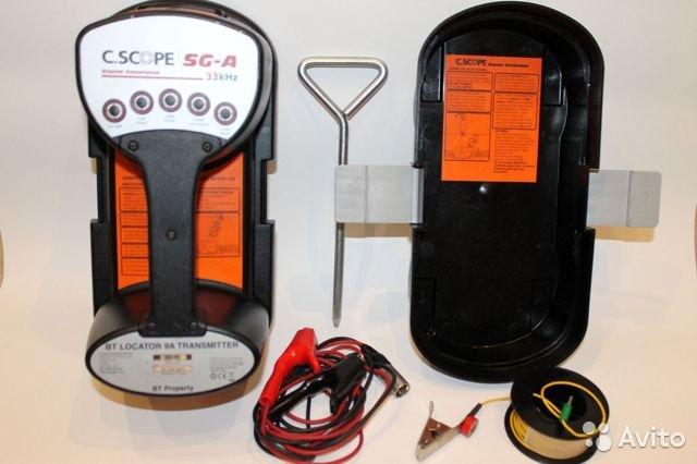 Трассоискатель C.Scope CXL с генератором SG-A Трассоискатель C.Scope CXL с генератором SG-A, Новосибирск, 49999 ₽
