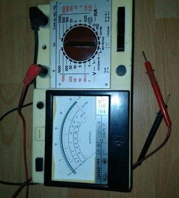 Мультиметр, мегаоометр Ц4342-М1