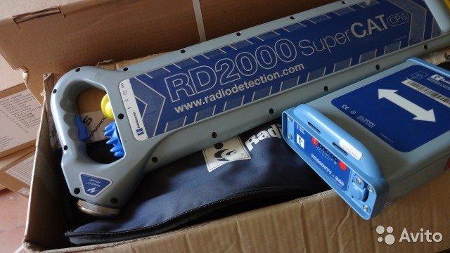 Трассоискатель Radiodetection rd2000 Трассоискатель Radiodetection rd2000, Краснодар, 120000 ₽