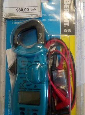 Токоизмерительные клещи цифровые Berent BT 9176
