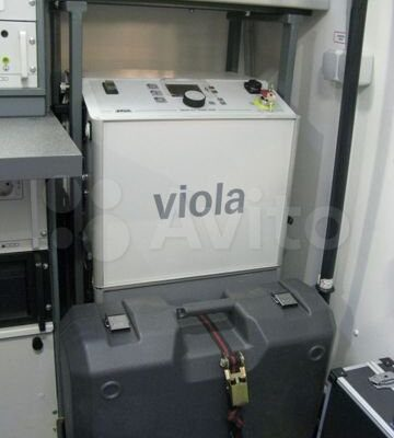 Мобильная электролаборатория Baur