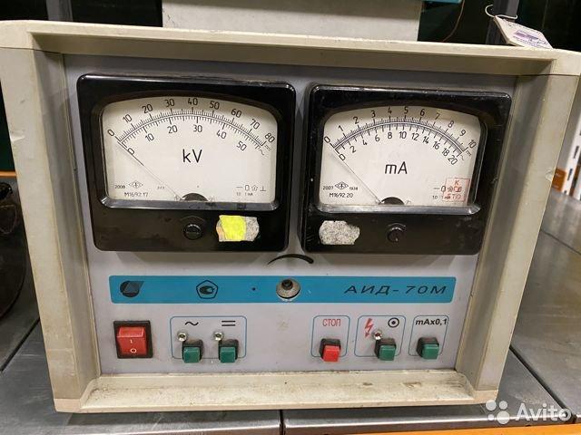 Аид-70М аппарат испытания диэлектриков Аид-70М аппарат испытания диэлектриков, Москва, 99000 ₽