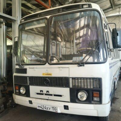 Передвижная электролаборатория ЭТЛ-35 на базе автобуса ПАЗ 3205