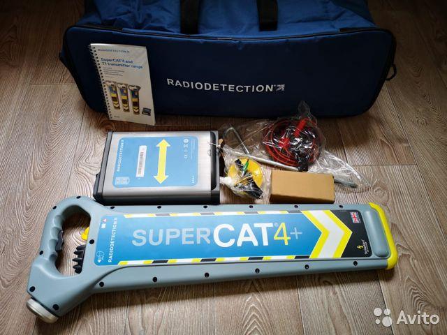 Трассоискатель CAT4+ с генератором TX1 Трассоискатель CAT4+ с генератором TX1, Екатеринбург, 109000 ₽